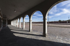 Barstow Station Arches Royalty Free Stock Photo