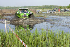 Barsuk (Badger) Trophy 2012. The competition involves the passage of special stages and GPS - orientation. Cars are divided into several categories. The stock photography