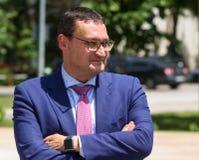 Bart Biebuyck, Uitvoerende directeur fch-JU royalty-vrije stock foto