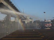BART Fire Lizenzfreies Stockfoto
