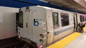 Bart Station royalty free stock image