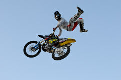 Bartek Oglaza freestyle motorcros cancan Royalty Free Stock Photography
