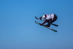 Bartek Sibiga, polnischer Skifahrer stockfotos