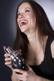 bartender γέλια στοκ φωτογραφίες με δικαίωμα ελεύθερης χρήσης
