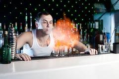 bartender Fotografering för Bildbyråer