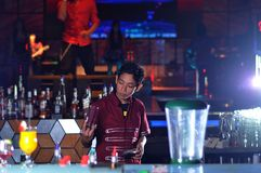 Bartender Stock Photography