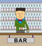 Bartender Στοκ Εικόνες