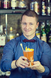 Bartender Royalty Free Stock Image