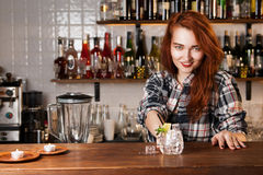 Bartender Royalty Free Stock Photography