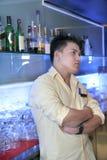 Bartender at work Royalty Free Stock Photos