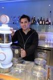 Bartender at work Stock Image