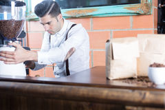 Bartender working Royalty Free Stock Photo