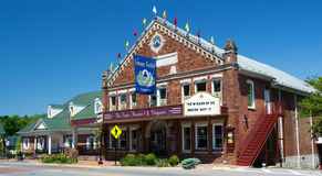The Barter Theatre - Abingdon, Virginia Royalty Free Stock Image