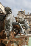 Bartholdi Fountain, Lyon Stock Image