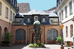 Bartholdi museum royaltyfria bilder