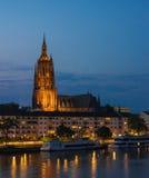Bartholomaus Cathedral, Frankfurt, Germany stock images