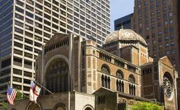 bartholomew教会城市主教新的s圣徒约克 免版税库存图片