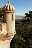 Bartizan или Guerite. Дворец Da Pena. Sintra. Португалия стоковая фотография