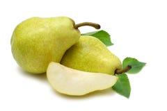bartlett αχλάδια Ουίλιαμς Στοκ Εικόνες