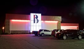 Bartlett Lanes Bowling Center, Bartlett, TN Royalty Free Stock Image