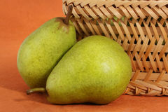 Bartlett pears Stock Photography