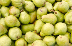 Bartlett pears on display Stock Images