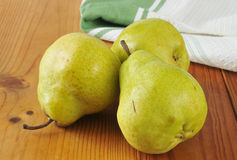 Bartlett pears Royalty Free Stock Photo