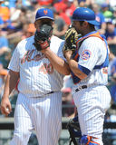 Bartolo Colon and Anthony Recker Stock Image