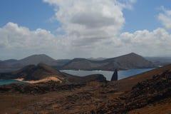 从Bartolome海岛的看法 免版税图库摄影