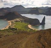 bartolome Galapagos wyspy Zdjęcie Royalty Free