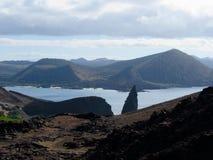 Bartolome-Insel, Penacle-Punkt, Galapagos lizenzfreie stockfotos