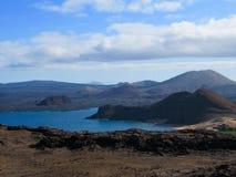 Bartolome-Insel, Penacle-Punkt, Galapagos lizenzfreie stockfotografie