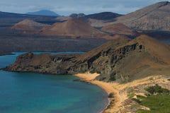 Bartolome Island. A photo of Bartolome Island from above Stock Photography