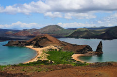 Bartolome Island's Pinnacle Rock Royalty Free Stock Photography