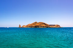 Bartolome Island Wide Angle Stock Photo
