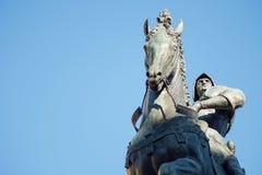Bartolomeo Colleoni, italian soldier in Venice. Bartolomeo Colleoni, italian soldier, equestrian monument in Venice Stock Image