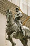Bartolomeo Colleoni Monument, Venice. The striking Renaissance statue of the famous soldier Bartolomeo Colleoni (1400 - 1475) in Venice, Italy.  Sculpted by Royalty Free Stock Photo