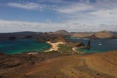 The Bartolomeo island. Dune on the Bartolomeo island Galapagos Stock Photo