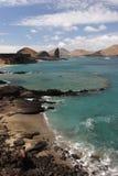 Bartolomeo island. View of the Bartolomeo island Galapagos Stock Photography