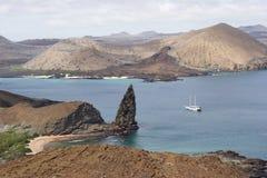 Bartolomeo island Galapagos. View of the Bartolomeo island Galapagos Royalty Free Stock Image