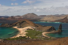 Bartolomeo island Galapagos. View of the Bartolomeo island Galapagos Stock Image