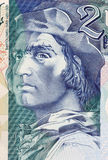 Bartolomeu Dias. On 2000 Escudos 2000 Banknote from Portugal. Nobleman of the royal household and explorer Stock Images