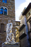Bartolommeo Bandinelli's Hercules and Cacus. Bartolommeo Bandinelli's statue of Hercules and Cacus located in the Piazza della Signoria in Florence, Italy Stock Images