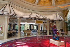 Bartolottarestaurant binnen van het Wynn-hotel, Las Vegas Stock Afbeelding