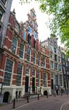 The Bartolotti House is a seventeenth century canal house on the Herengracht canal, Amsterdam. The Bartolotti House is a seventeenth century canal house on the royalty free stock photography