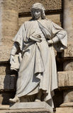 Bartolus de Saxoferrato, the most important medieval jurist of t Royalty Free Stock Photography