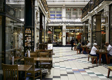 Barton Arcade, Deansgate, Manchester Photo stock
