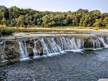 Barton Creek i Austin Texas Royaltyfria Bilder