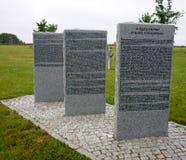 Bartossen, кладбище bartosze немецкое воинское Стоковое Изображение