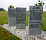 Bartossen, bartosze Deutschmilitärfriedhof Stockbild